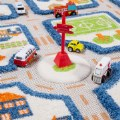 "Alternate Thumbnail Image #4 of IVI Traffic 3D Play Rug - Blue 31.5"" x 44.5"""