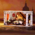 Alternate Thumbnail Image #1 of DIY 3D Wooden Puzzles - Miniature House: Paris in Midnight