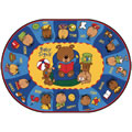 "Sign Say & Play™ Rug - 6'9"" x 9'5"" Oval"