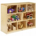 Alternate Thumbnail Image #1 of Premium Solid Maple Multipurpose Shelf Storage
