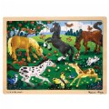 Thumbnail of Frolicking Horses 48-Piece Jigsaw Puzzle