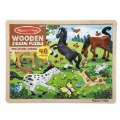 Alt Thumbnail #3 of Frolicking Horses 48-Piece Jigsaw Puzzle