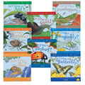 3 years & up. Students compare the similarities and differences as they learn about the life cycle of these insects. Each book describes how they hatch, develop, and live in their environment. Set of 8 paperbacks.