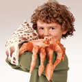 Alternate Image #2 of Hermit Crab Hand Puppet
