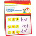 "Grades K - 2. Boost early phonics and reading skills in just five minutes a day with this all-in-one, word-building center! Flip-and-solve cards guide word investigation as students use 3 clues to build each daily word, selected from dolce list and essential content area terms. Includes 12"" x 16"" self-standing, flip chart with 180 flip-and-solve activities, magnetic work surface, 70 magnetic foam letter tiles and teaching guide."