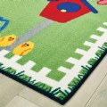 Alt Thumbnail #1 of Garden Time Themed KID$ Value Rug - 4' x 6'