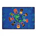 Give the Planet a Hug Carpet - 6' x 9'