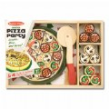 Alternate Thumbnail Image #4 of Wooden Pizza Party Set