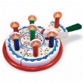 Main Image of Wooden Birthday Party Cake Set