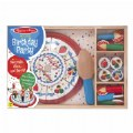 Alternate Image #3 of Wooden Birthday Party Cake Set