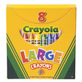 Main Image of Large 8-Count Crayola® Crayons
