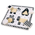 Alt Thumbnail #1 of Black & White Animal Puzzle - Set of 2