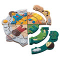 Main Image of Weather Dress Up Puzzle - 12 Pieces