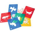 Alternate Thumbnail Image #1 of Life Science Stencils of Bugs and Animals - Set of 24