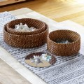 Alternate Thumbnail Image #2 of Sense of Place Circle Woven Mirror Trays - Set of 3