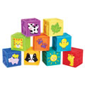 Alternate Image #1 of Squeak 'n Stack Blocks (Set of 9)
