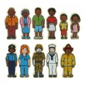 Alternate Thumbnail Image #3 of Wooden Village People - 42 Pieces