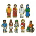 Alternate Thumbnail Image #4 of Wooden Village People - 42 Pieces