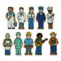 Alternate Thumbnail Image #5 of Wooden Village People - 42 Pieces