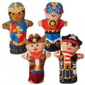 Main Image of Bold Buddies Hand Puppets (Set of 4)