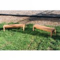 Alternate Thumbnail Image #2 of Outdoor Wooden Stacking Benches - Set of 2