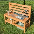 Alternate Thumbnail Image #3 of Outdoor Mud Kitchen with Pump