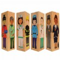 Main Image of Career Wooden Blocks (Set of 12)