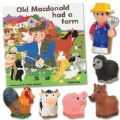 Old MacDonald Book and Finger Puppet Set