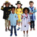 Main Image of Career Dramatic Play Costumes for Pre K Set 2