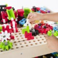 Alternate Thumbnail Image #9 of IO Blocks® Center - 458 Building Pieces - STEM Educational and Learning Toy for Toddlers