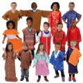 Main Image of Festive Multiethnic Costumes