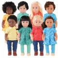 "Main Image of 16"" Multiethnic Dolls"