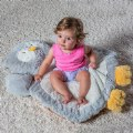 "Alternate Thumbnail Image #2 of Infant Plush and Soft 31"" Owl Shaped Baby Mat"