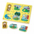 Alternate Image #3 of Nursery Rhymes 1 Sound Peg Puzzle