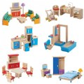 Main Image of Wooden Dollhouse Furniture
