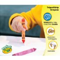 Alt Thumbnail #1 of My First Crayola™ Washable Tripod Grip Crayons (Single box, 8 crayons)