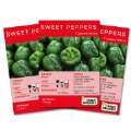 Main Image of Sweet Bell Pepper Seeds 3-Pack