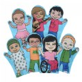 Courage Kids Puppet Set - Set of 7