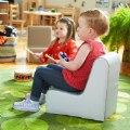 Alt Thumbnail #1 of Toddler Soft Seating - Sofa and 2 Chairs in Natural Colors