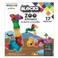 Alternate Thumbnail Image #5 of Zoo Animals Clear Colors - 17 Pieces