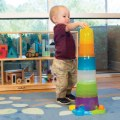 Alternate Thumbnail Image #2 of Toddler Stack and Ball Drop Colorful Transparent Tower