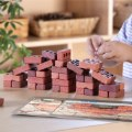 Alternate Thumbnail Image #3 of Little Bricks Builders Set for Construction and Stacking with Concept Cards - 60 Piece Set