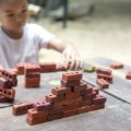 Alternate Thumbnail Image #8 of Little Bricks Builders Set for Construction and Stacking with Concept Cards - 60 Piece Set