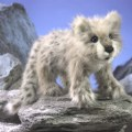 Alternate Thumbnail Image #2 of Snow Leopard Cub Hand Puppet
