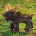 Alternate Thumbnail Image #2 of Small Moose Hand Puppet