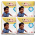 Cuties Diapers - Size 3 - 16-28 lbs. - 144 Diapers