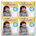 Cuties Diapers - SIze 4 - 22-37 lbs. - 124 Diapers