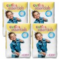 Cuties Diapers - Size 6 - 35 lbs. & up - 92 Diapers