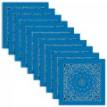 Blue Bandana - Set of 10