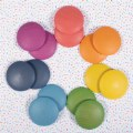 Alternate Thumbnail Image #7 of Rainbow Wood Loose Discs - 14 Pieces